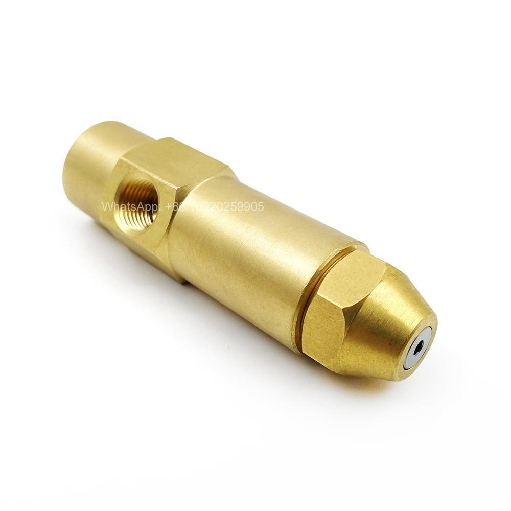 YS 오일 전기로 노즐, 저압 공기 분무 연료 노즐, 델라 폐기물 석유 버너 노즐, 높은 품질과 브랜드 뉴 황동