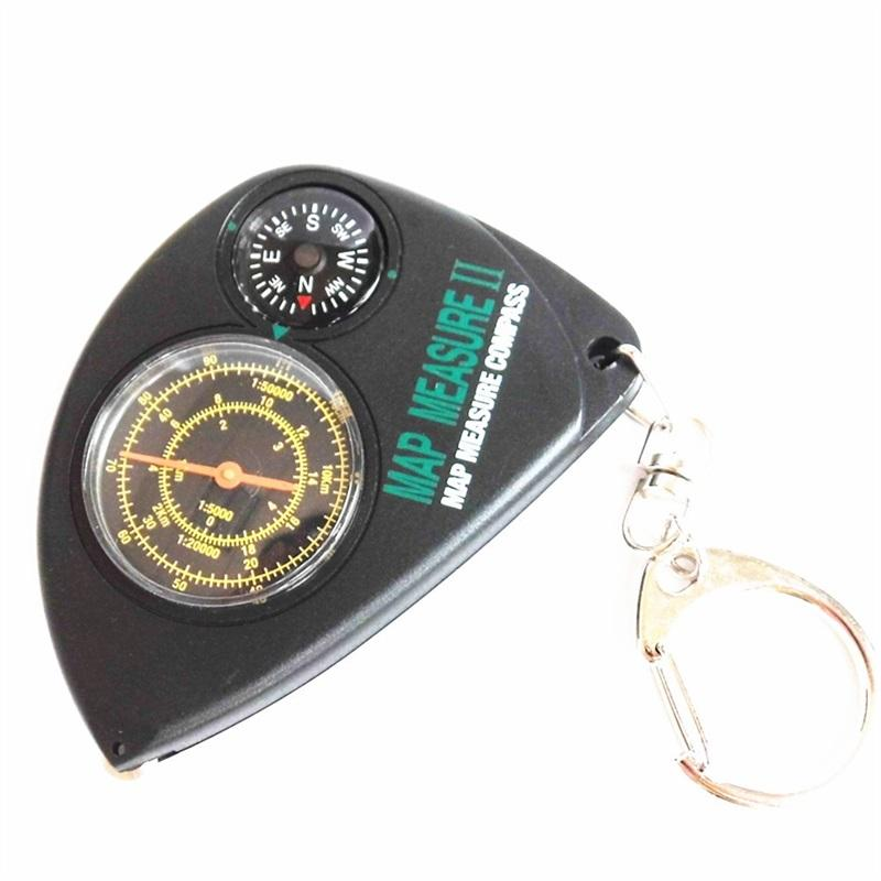 Multi Function Compass Outdoor Range Finder Camp Odometer Survival Tool Portable Flexible Resistance To Fall Hot Sale 8 3mwf1