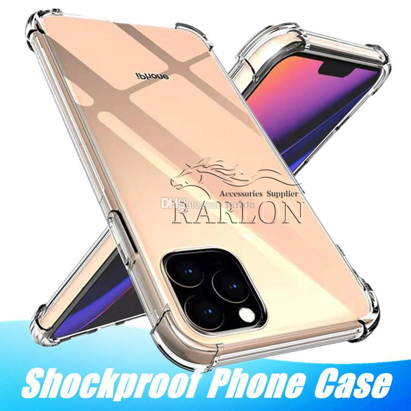 Clear Soft Silicone TPU Case For iPhone 11 Pro MAX XR XS MAX 6 7 8 Transparent Airbag Shockproof Back Cover