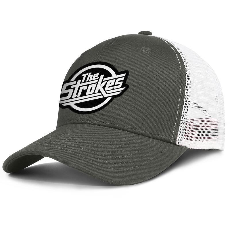 Les coups - Logo drôle pour les hommes et les femmes réglables meshcap trucker équipés personnalisés baseballhats vintage unique The Strokes Triangle