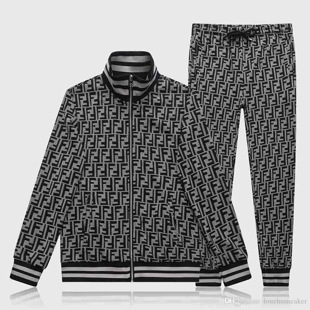 Vendita calda Paris nuova Medusa sportivo squisita maglia completa chiusura lampo degli uomini abbigliamento sportivo Khmer bellezza Dusha sportivo tuta M-3XL