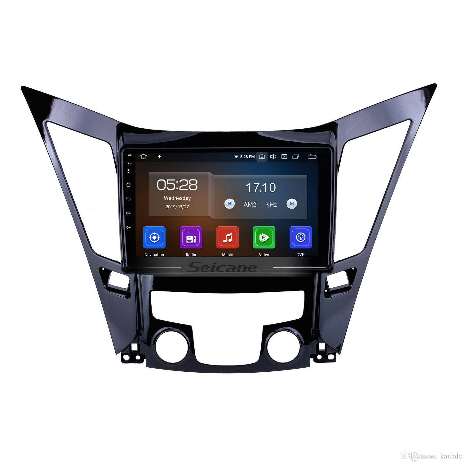 9 Inch Android 9.0 Touch Screen Car GPS Navigation system For 2011-2015 HYUNDAI Sonata i40 i45 with Bluetooth WiFi AUX USB support Car dvd