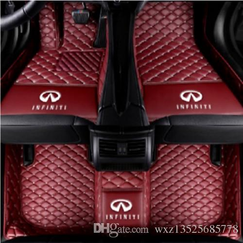 CFMBX1IN7061 Black Nylon Carpet Coverking Custom Fit Front and Rear Floor Mats for Select Infiniti G35 Models