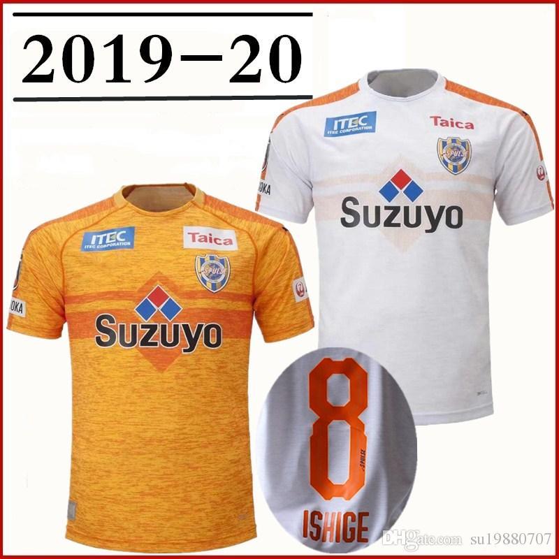 Acquista Maglia Da Calcio Shimizu S Pulse 2019 2020 Crislan Kaneko Shirasaki Personalizzata 19 20 Maglia Da Calcio Giappone J League Shimizu S Pulse ...