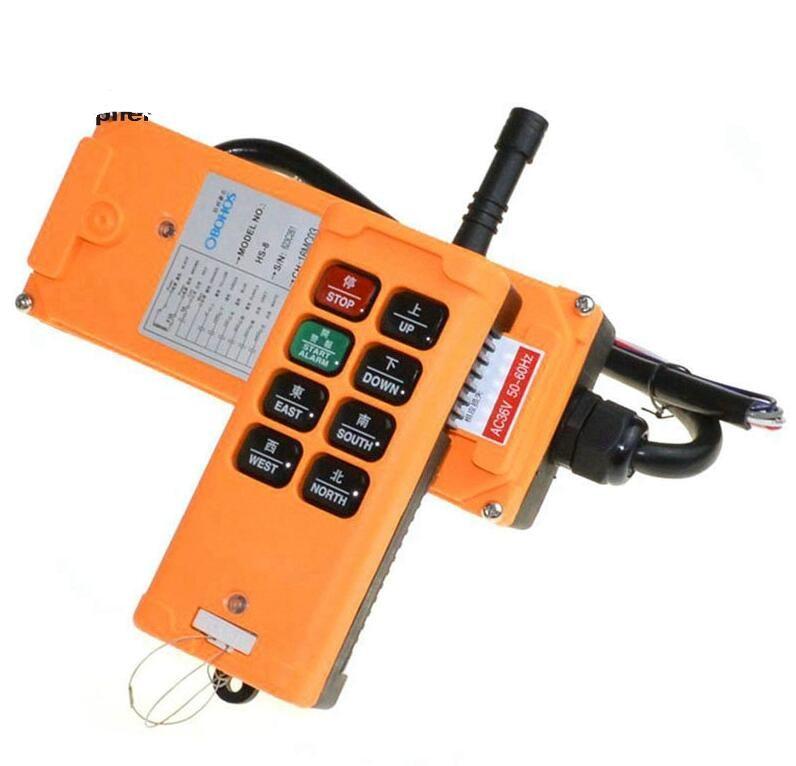 Бесплатная доставка 1 передатчики 8 каналов односкоростной грузовик подъемный кран лебедка Радио пульт дистанционного управления контроллер системы