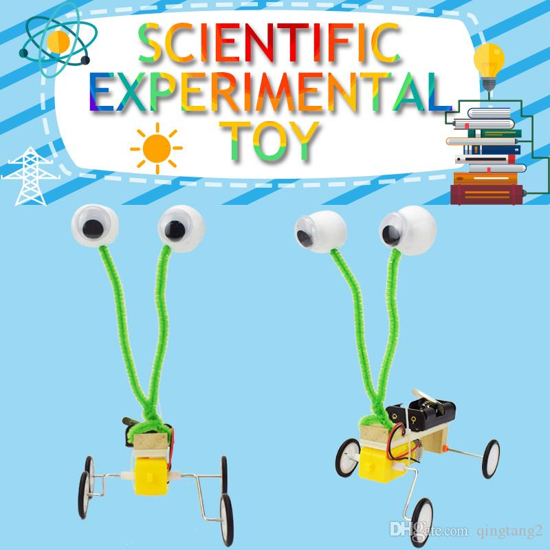 Robot Reptile Model Kits DIY Science Experiment Toys for Children Creative Scientific Training Physics Educational Toy Gift