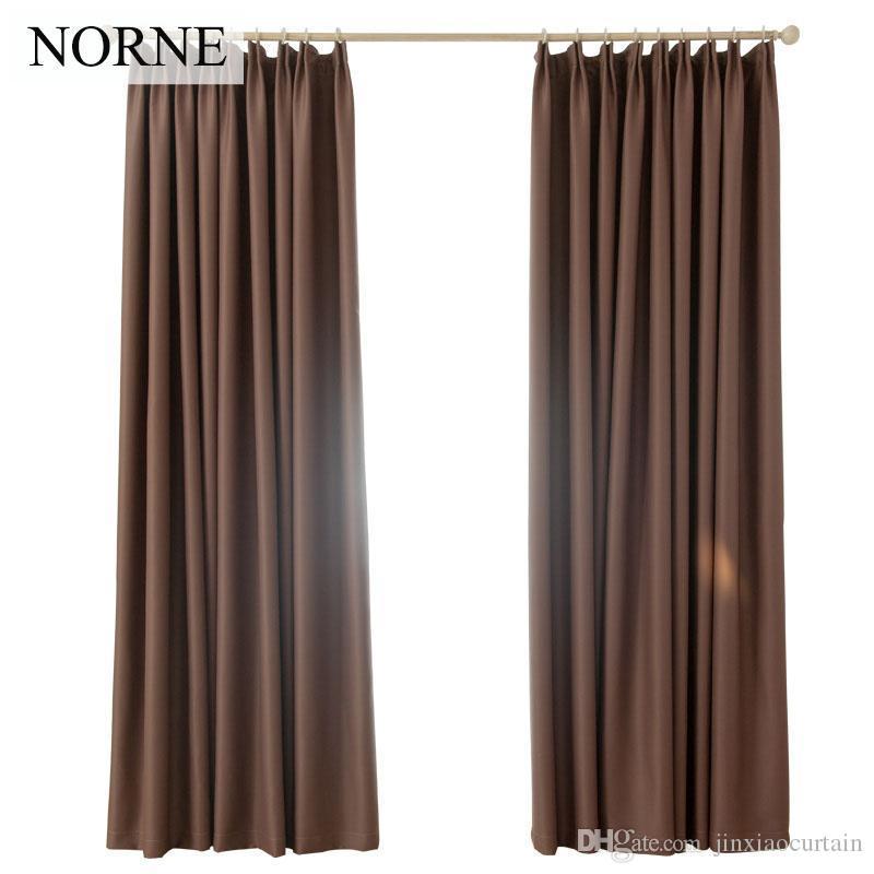 Norne Room Теплоизолирующий коэффициент затенения около 90% Шторы с затемнением Шумопоглощающие шторы для штор для гостиной