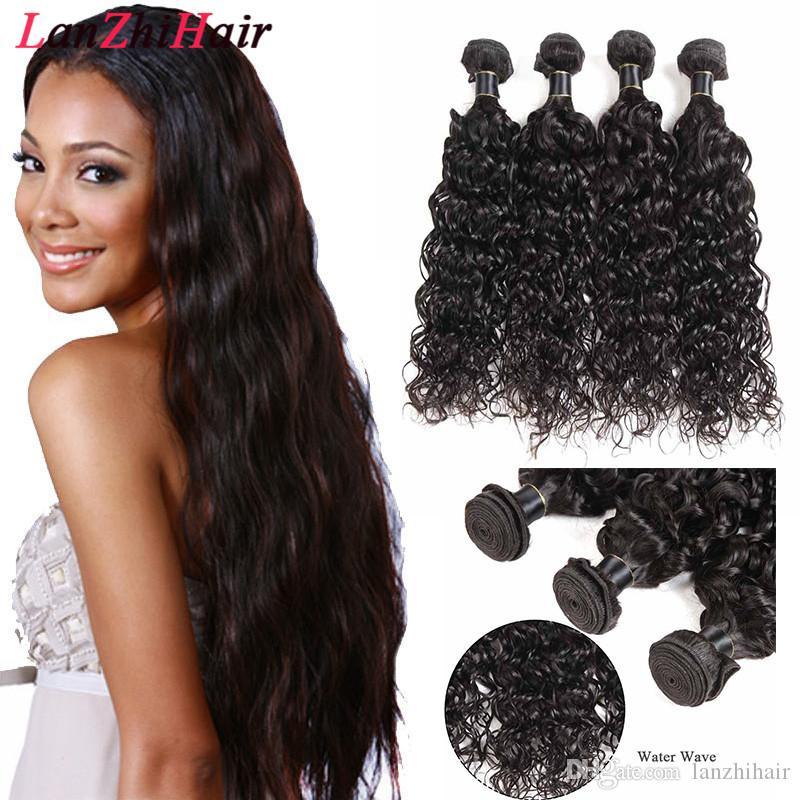 Pérou Vierge Bundles cheveux Vague Bundles Bundles humaine Cheveux Corps Vague 50G / pcs Malaisie Human Hair Extensions Livraison gratuite