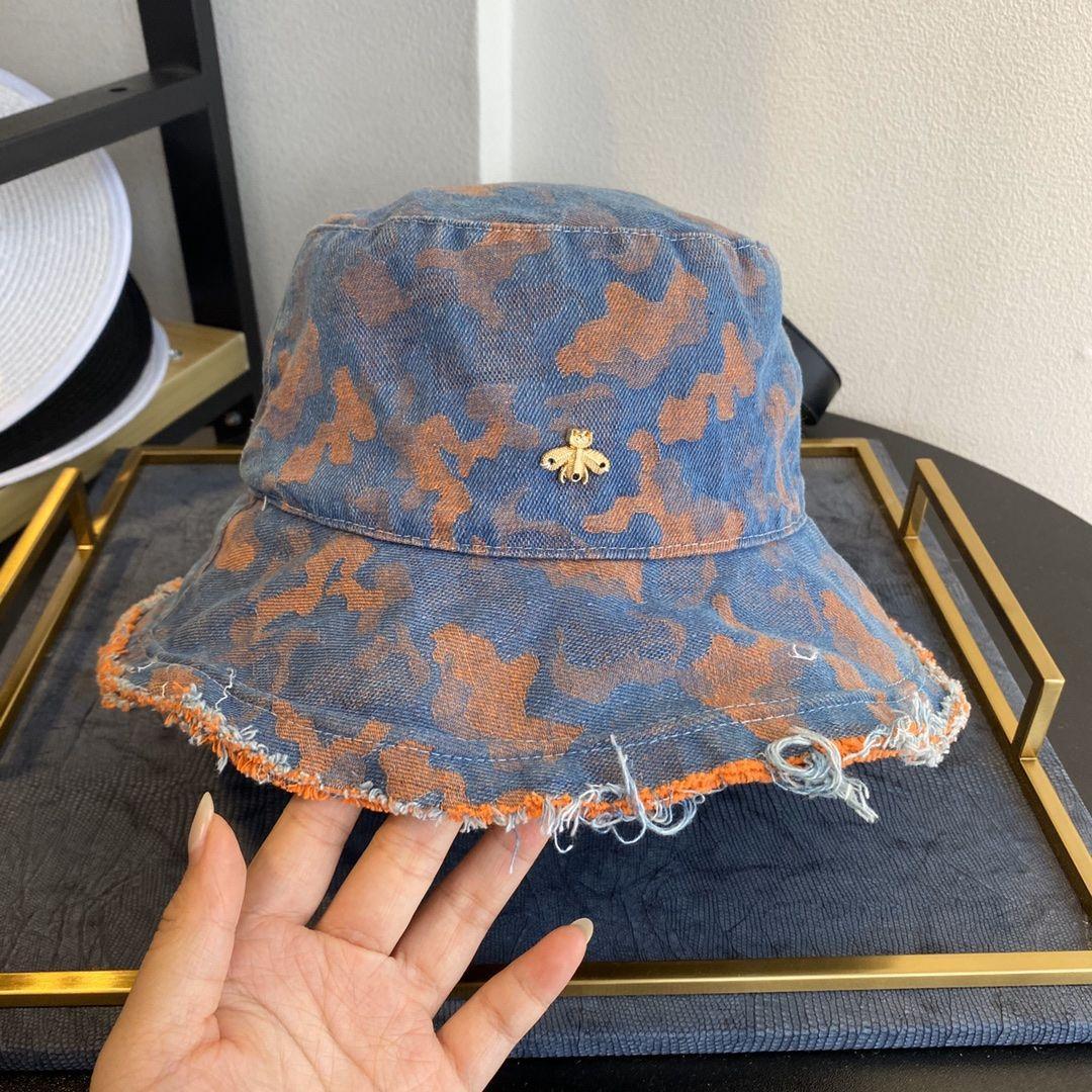 كاوبوي قبعة دلو مصمم كاب النحلة الصغير امرأة دلو القبعات العلامة التجارية قبعات القبعات قبعة صغيرة Casquettes عالية Quality16