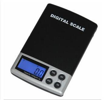 Портативный ЖК-дисплей 100 г х 0.01 г электронные цифровые весы карманные ювелирные весы вес Весы баланс