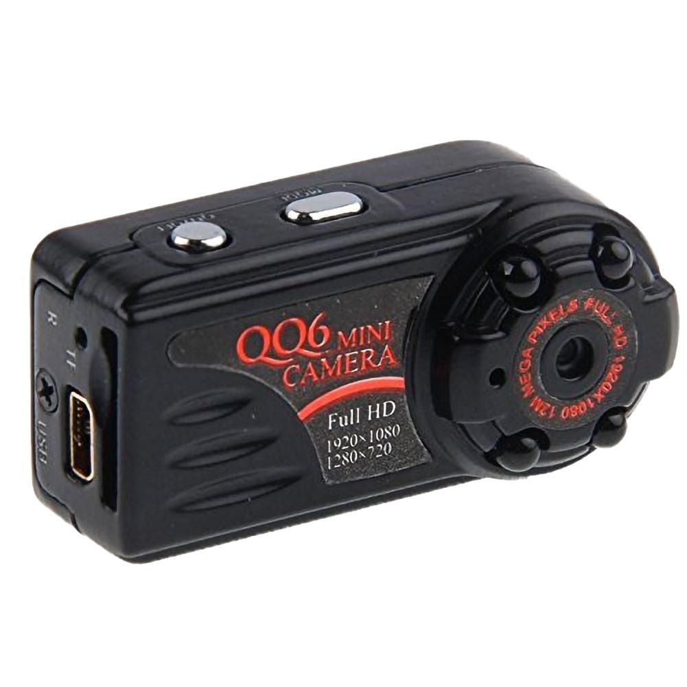 1080P Mini Camera QQ6 IR Night Vision Motion Detection Sensor Camera Video Full HD DV DVR mini Camcorders Small Web Cameras