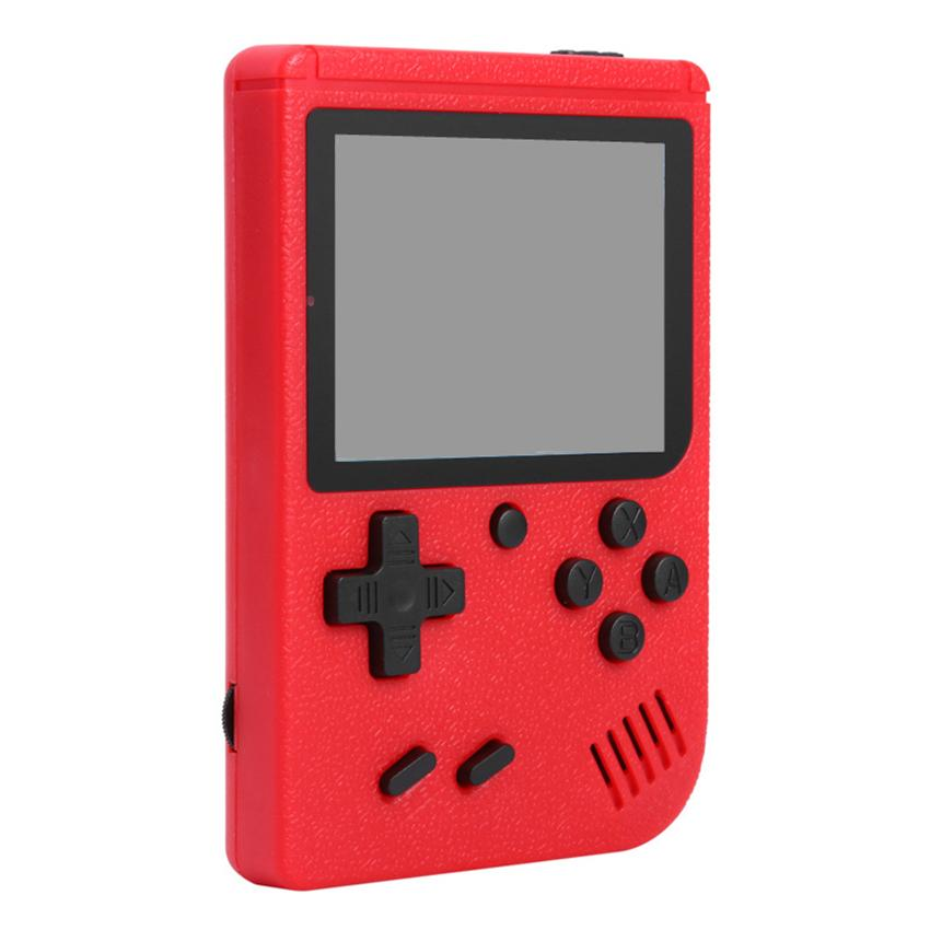 Mini Handheld Video Game Console Portable FC Games Retro 8 Bit Classic 400-in-1 AV Cable Connect TV Show LCD Game Player Kids Best Gift
