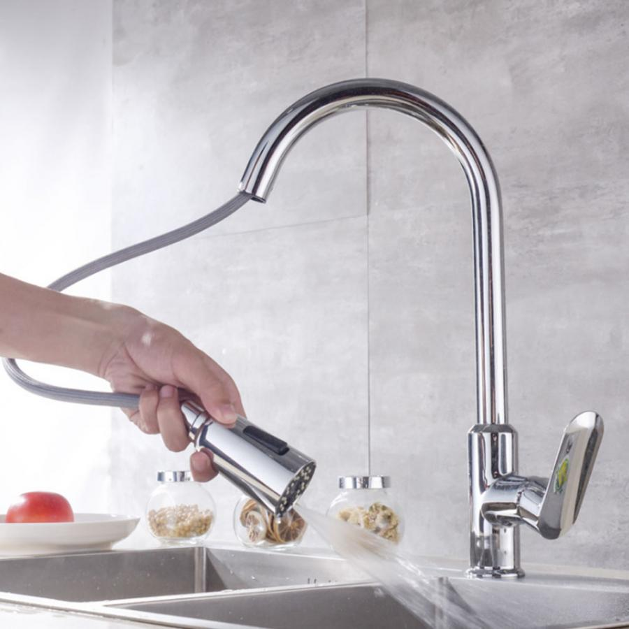G1/2in Copper Sink Faucet Household Bathroom Faucets Hot Cold Water Tap Washbasin Rotatable Faucet taps for Kitchen
