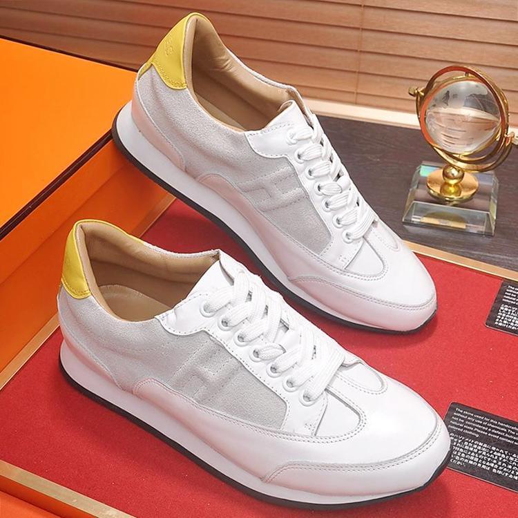 2020 HERMES новая мужская обувь Роскошные дизайнерские кроссовки досуг Chaussures Pour Hommes Бегун кроссовки Trail Sneaker Мужская обувь повседневная Люкс