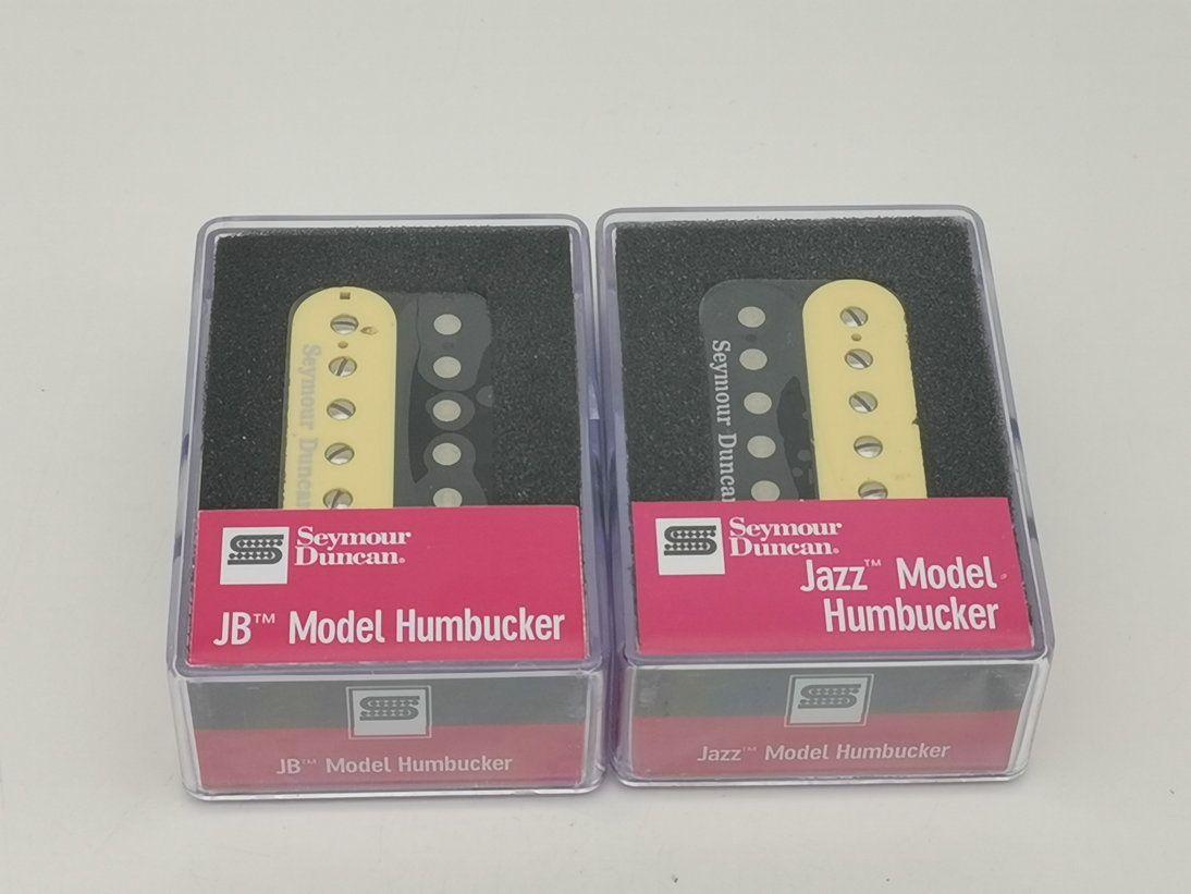 Seymour Duncan пикапов Hot Rodded Humbucker Set SH-2n и SH-4 гитары Пикапы Black Zebra хамбакеров