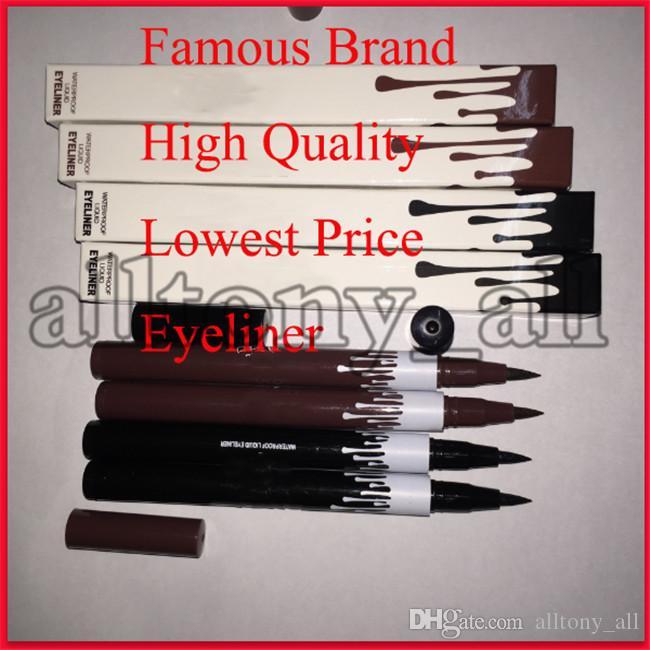 2019 K L Marque Fond de teint liquide Crayon Eyeliner Maquillage imperméable Eye-liner Crayon durable à long Facile à porter Traceur liquide