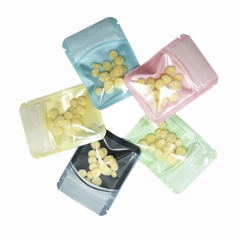 Clear Plastic Zip Lock Packaging Bag Self Sealing Zipper Organizer Small Toy Jewelry Electronic Accessories Storage Pouches Storage Baskets