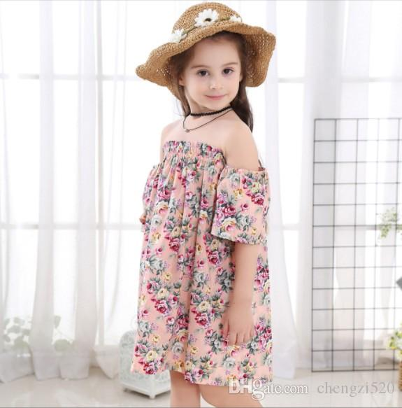 Kids Girls Dresses Clothes Summer Children Sling Dress Girl Sleevless Princess Dress Toddler Baby Sundress Kid Outfit 2-11Yr