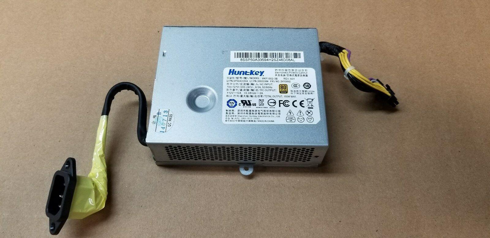 03T9022 FRU 54Y8892 für Original HKF1502-3B HK1502-3B APA005 FSP150-20AI 150W Stromversorgung für S510 S710 S720 S560 M71Z M72Z