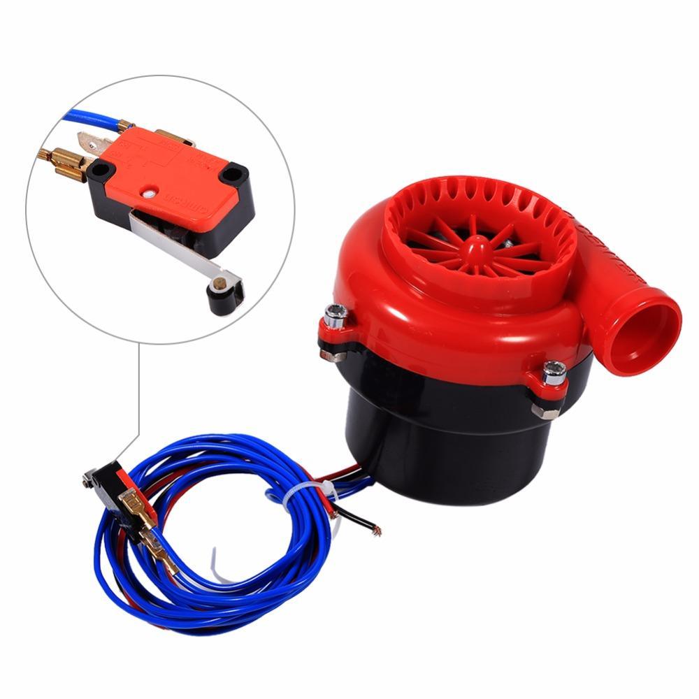 Livraison Gratuite Voiture Styling Voiture Électronique Faux Dump Turbo Souffler Hooter Valve Analogique Son BOV Simulateur Kit