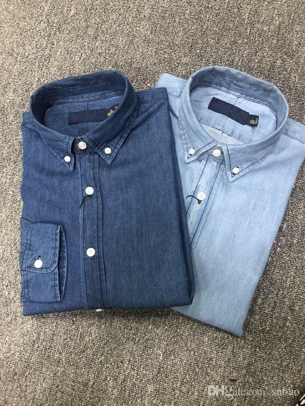 UK Fashion estiva da uomo Londra Solid Camicie Fred abito polo casuale Shirt Slim Fit Mens Chemise Homme
