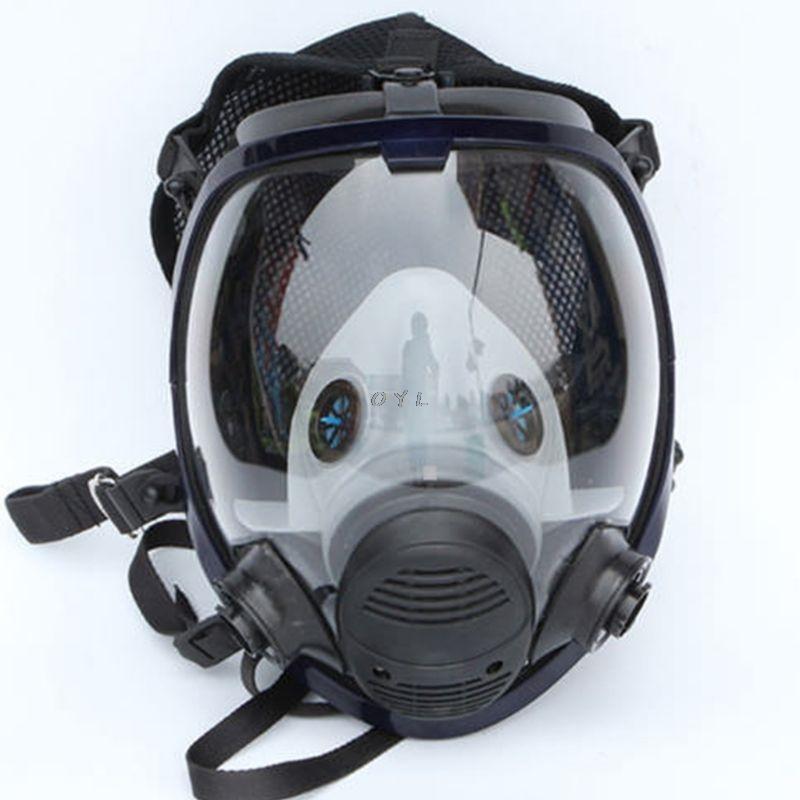 Visage morceau respirateurs Kit masque facial gaz pour la peinture aérosol Pesticide protection contre les incendies