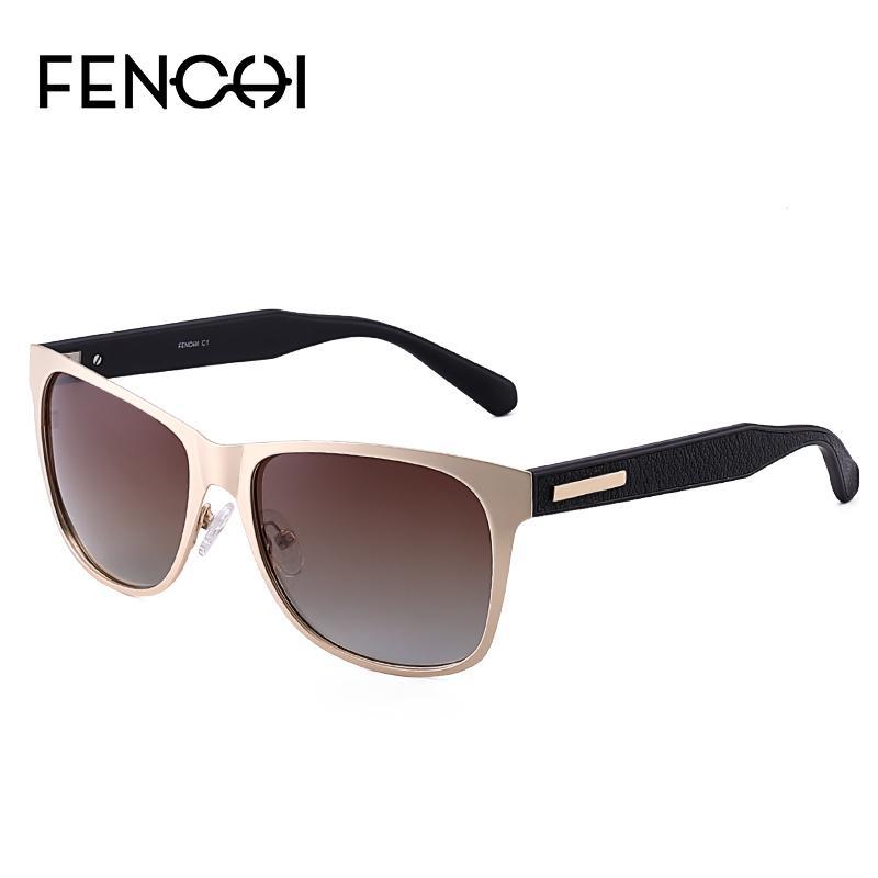 Lunettes de soleil style vintage hommes polarisées de conduite des lunettes de soleil