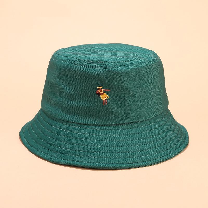 erkek ve Kadınlara 03 Cotton Yaratıcı desen nakış Kepçe Hat Balıkçı Şapka açık seyahat Güneş Cap Şapka