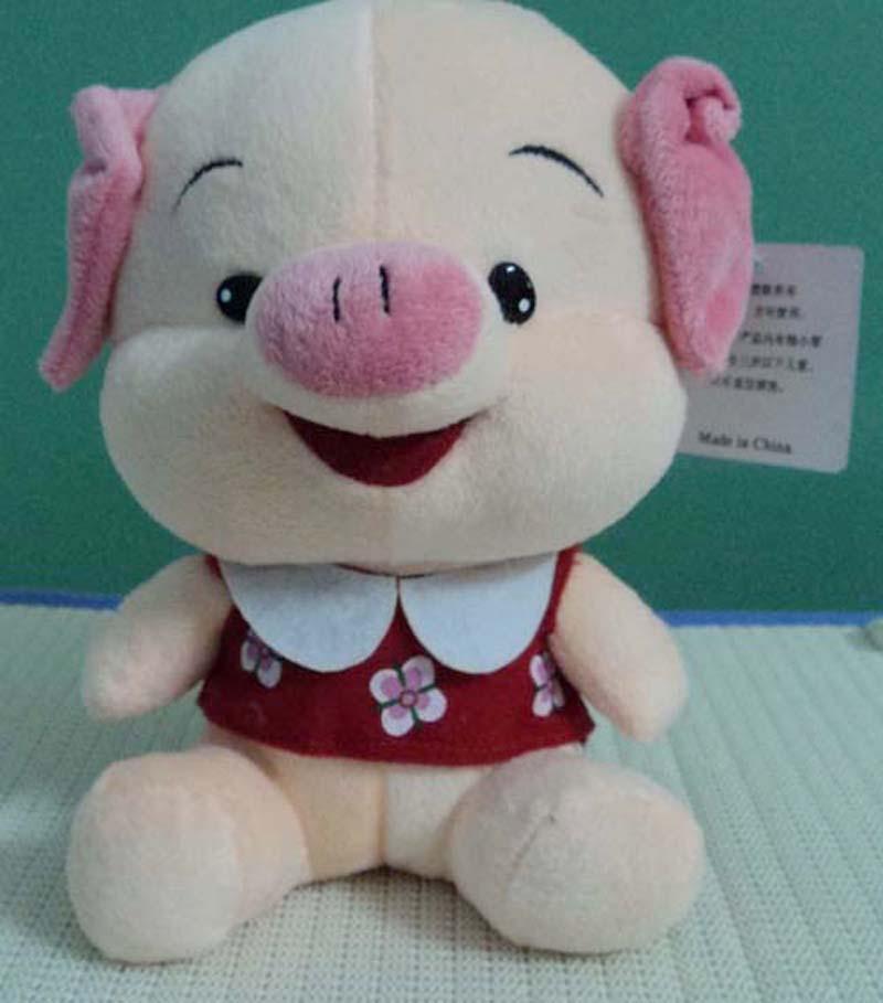 25см Новый бренд лисицы / Wolf / Медведь / Свиньи Кукла Peluche Kawaii Детские игрушки Пушистый День рождения подарки Игрушки для детей