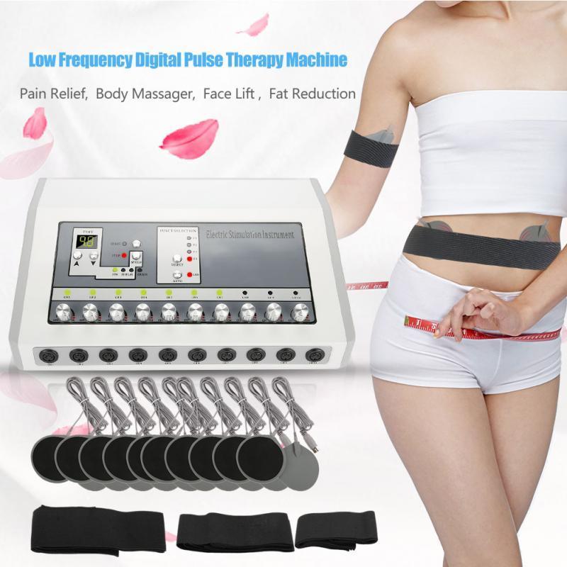 Düşük Frekanslı Dijital Darbe Terapi Makine Ağrı Kesici Vücut Masaj Yüz Germe Yağ Azaltma Zayıflama Güzellik Sağlık Makinası