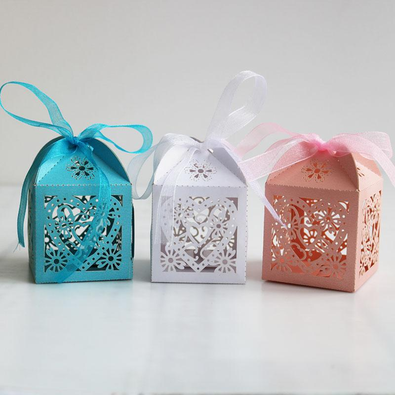 Good Quality Love Heart Cake box Packaging Multicolor Cardboard Wedding Gift Box Paper Candy Bag for Party