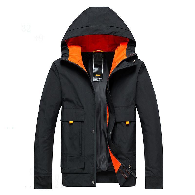 Negócios Jackets Sólidos Moda ud8dcd mens Brasão de 20ss Chegada Nova Primavera Homens Outono Casual 9isk transporte rápido slim Colla de boa qualidade