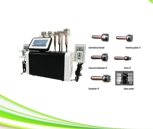 nuova macchina di sollevamento cavitazione laser lipo rf faccia dimagrante cavitazione 6 in 1 spa