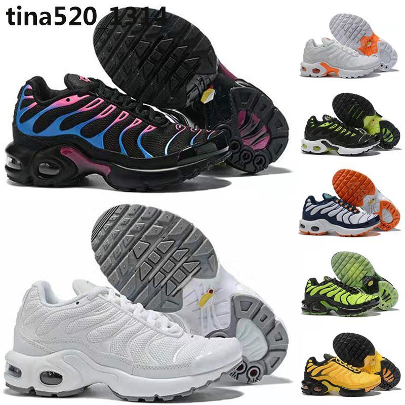 Nike Air Max TN Plus 2019 TN الاحذية الجديدة للرجال نساء اطفال أسود أحمر أبيض TN جنة الانتخابات العامة الترا سادة السطحية حذاء رياضة أحذية مدرب