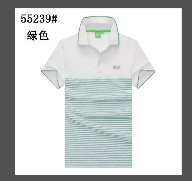 Mens Designer T Shirt New men's Short Sleeved Lapel Shirts Neck T-shirt Summer Breathable Button Pullover T-shirt Men Patchwork Tops Tee