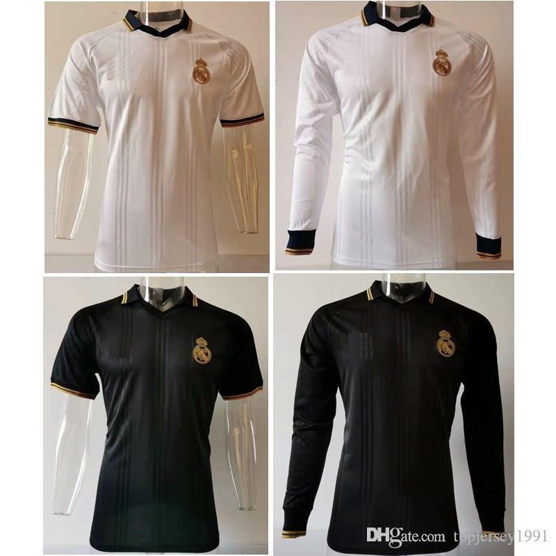 Thai 19 20 Real Madrid Camisa Polo PERIGO futebol kit 2019 2020 verdadeiro futebol madrid jerseys jersey formação Kroos ASENSIO