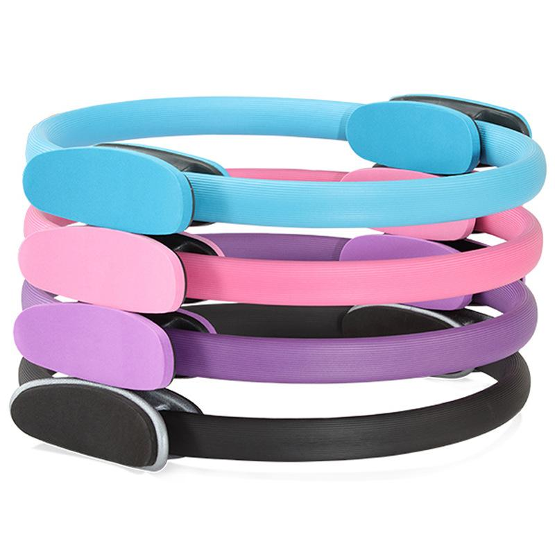 Professional Fitness Pilates Slimming Magic Yoga Ring Durable Pilates Fitness Circle Yoga Accessory Gym Workout Training Tool