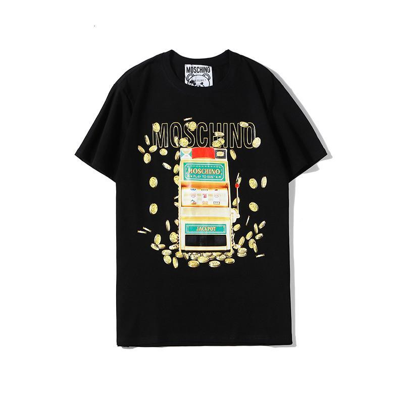 Camiseta para hombre de la camiseta ocasional ocasional del tamaño S-2XL cómodo Joker WSJ024 # 1130105 cool_shopping04