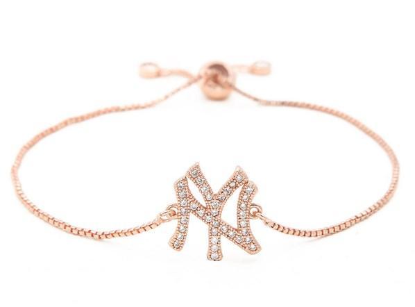 золото серебряная цепь микро проложить cz Циркон кубический цирконий браслет веревка регулируется макраме круглый браслет xdtg43 буквы мода ювелирные изделия