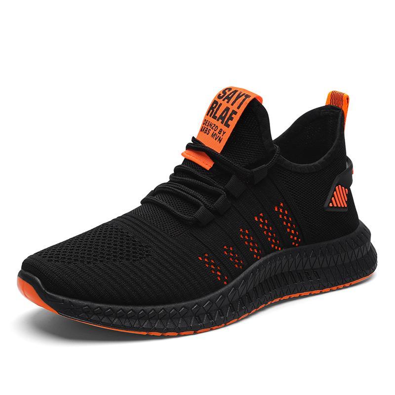 Men Mesh Breathable Flat Heel Shoes