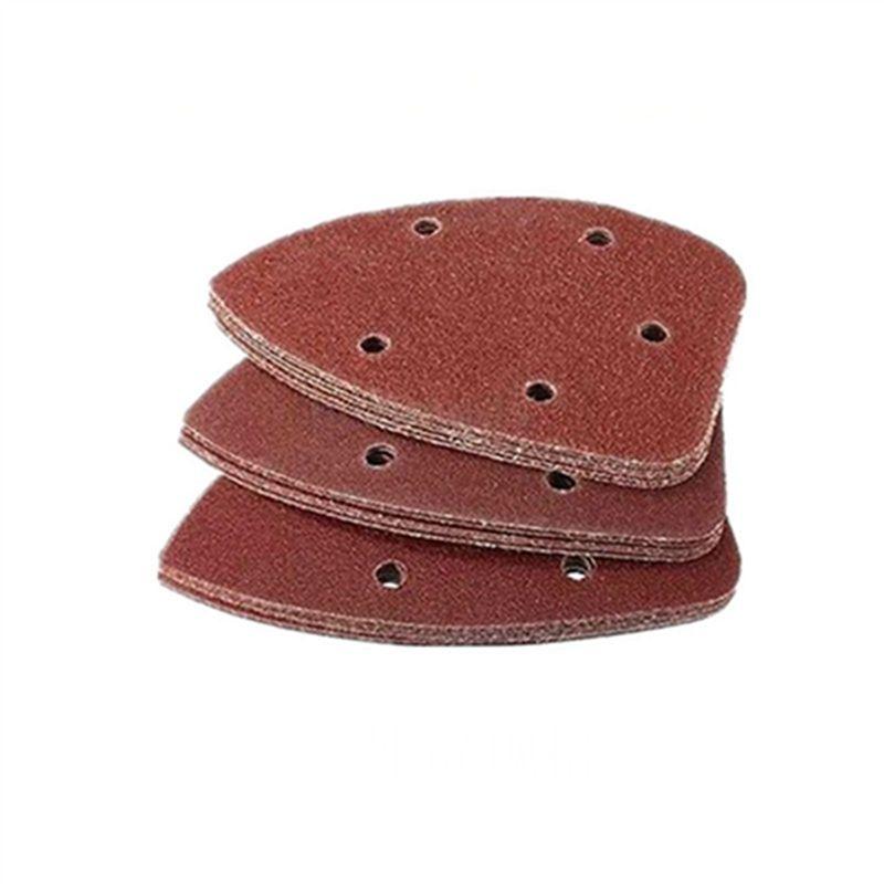 Tampons abrasifs pour papier abrasif Triangle Outils abrasifs 40 60 80 100 120 180 240 320 400 600 800 1000 1200 1500 2000 3000 Grain