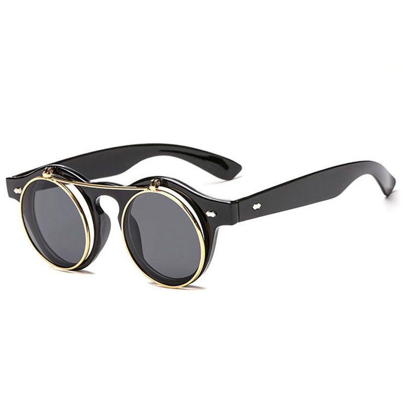 Солнцезащитные очки для мужчин женщин мода женские солнцезащитные очки мужские роскошные солнцезащитные очки дамы ретро солнцезащитные очки унисекс круглый дизайнер солнцезащитные очки 8K1D87