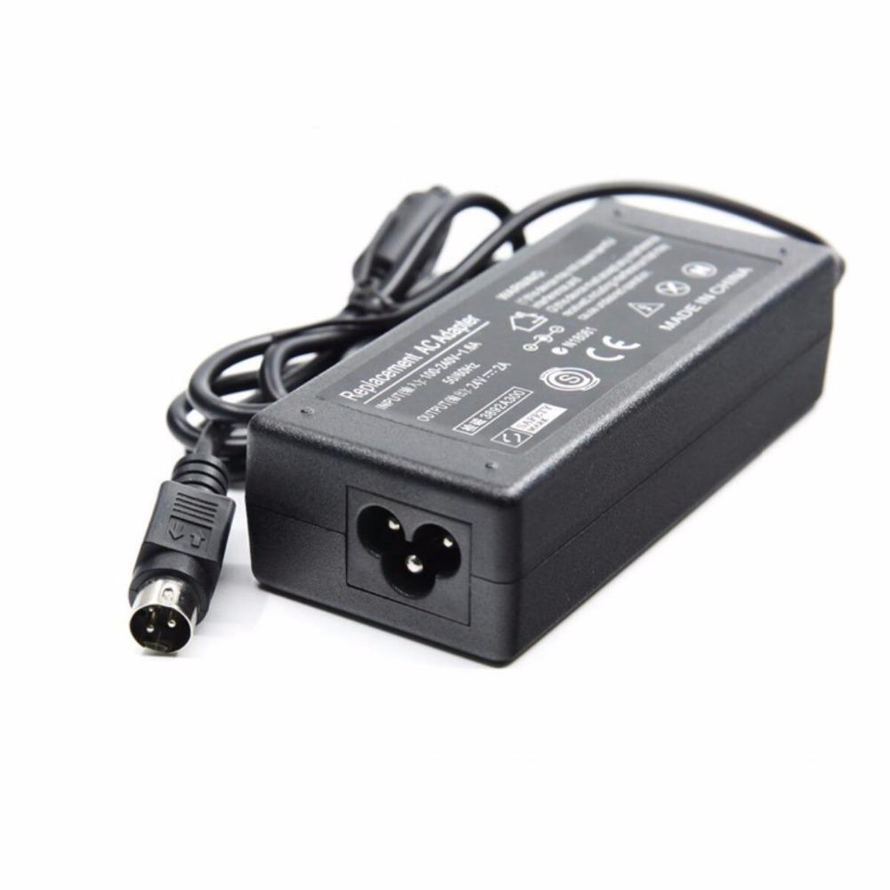 EPSON PS180 PS179 için Termal Makbuz Yazıcı için 50pcs 24V 3A 3pin 72W AC Adaptör Güç Kaynağı Şarj