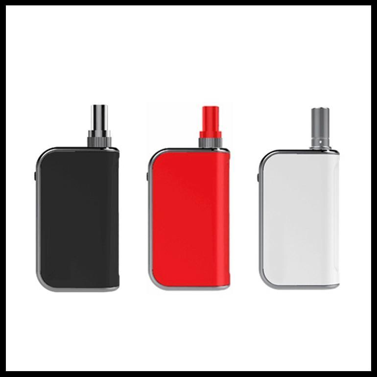 Customizable Color and Logo Print Preheat Box Mod Vape Battery Charger Inhale Activated Mod Rechargeable Vape Pen Battery Komodo C5 400mAh