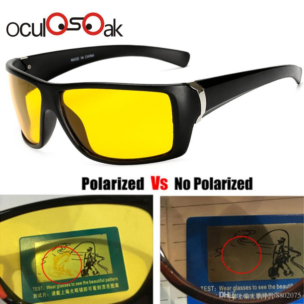 Polarized Yellow Prevention High-End Glasses Night Vision Sunglasses Driving