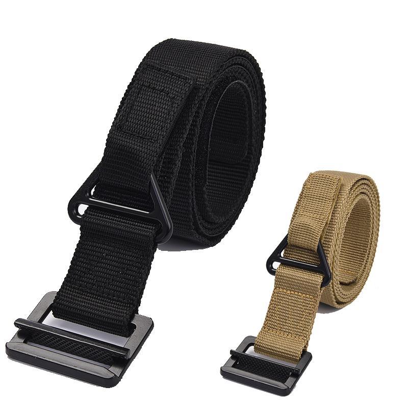 Combate tático de nylon Belt Army Men Belt Training Caça Acessórios Apoio Da cintura para 3 Tamanho