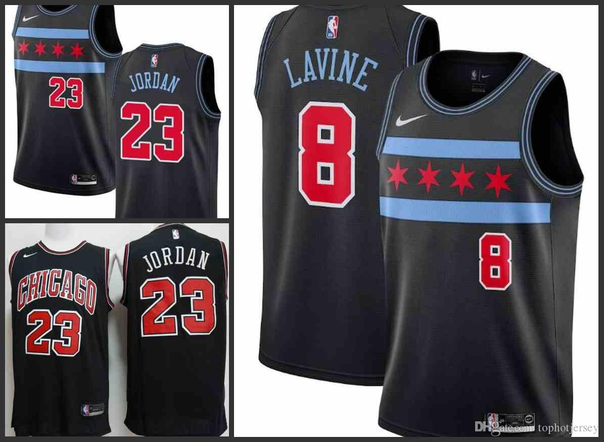 quite nice 2ae66 b279d 2019 2018 19 Chicago Men Bulls Jersey #23 Michael JD 8 Zach LaVine City  Edition Jerseys From Top_hot_jersey, &Price; | DHgate.Com
