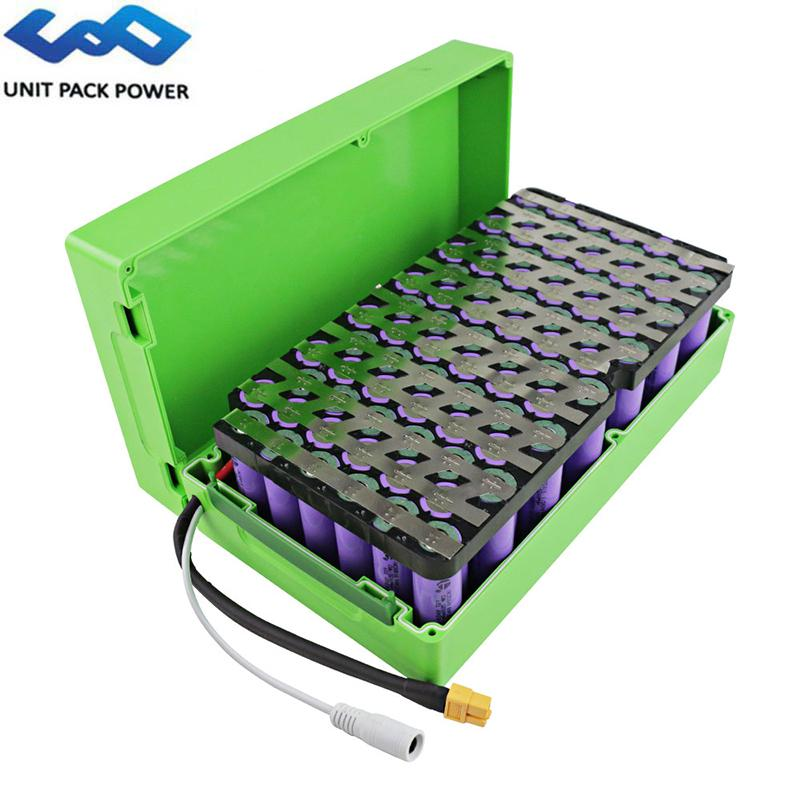 UPP Waterproof Scooter elétrico Bateria 13S6P 48V 21AH 15Ah Samsung celular de lítio para 1000W 750W 500W Bafang TSDZ2 Motor