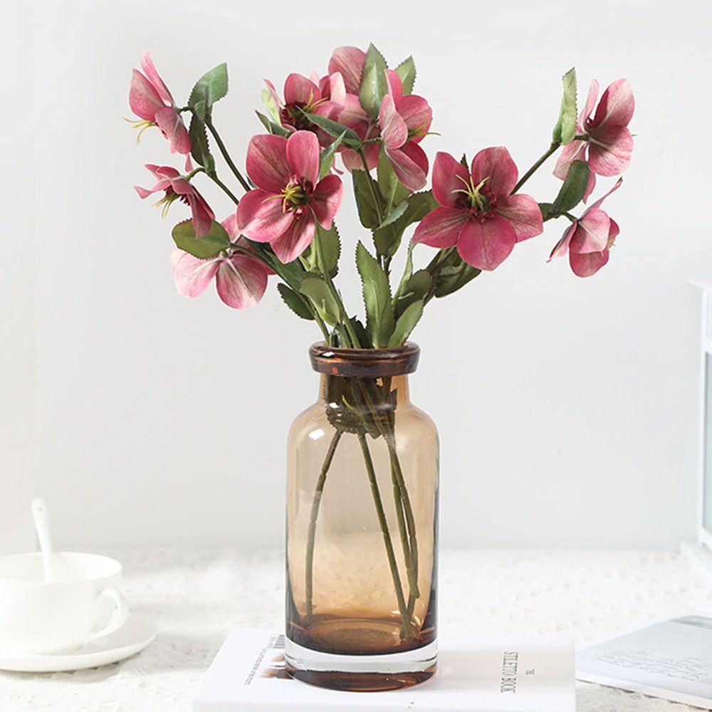 2021 Artificial Flowers Diy Simulation Christmas Rose Desert Flower Home Decoration White Pink Wedding Bouquet Fake Flower Pot Plant From Shuishu 22 68 Dhgate Com