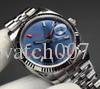 Роскошные часы сапфировое качество 2813 движение журнал двойной календарь 228235 218238 228238 Азия ETA 2813 механизм автоматические мужские часы